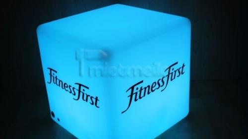 LED Loungewürfel bedruckt mit Ihrem LOGO