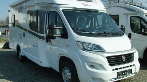 Wohnmobil Teilintegriert Carado T 348 mit Hubbett