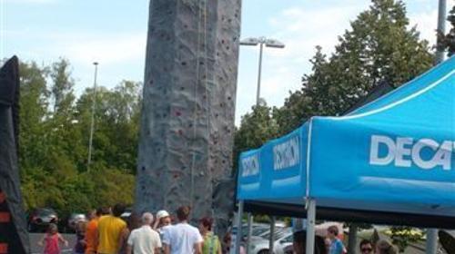 10 Meter Klettermassiv
