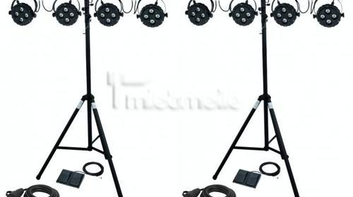 LICHTSTATIV SET Komplette Lichtanlage EASY