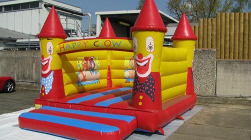 Hüpfburg 4,0 x 5,2 Open Bouncer Clown
