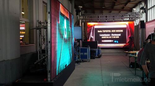 P4 bis P6 LED Wand Videoinstallation