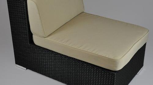 Polyrattan Lounge - Mittelsofa