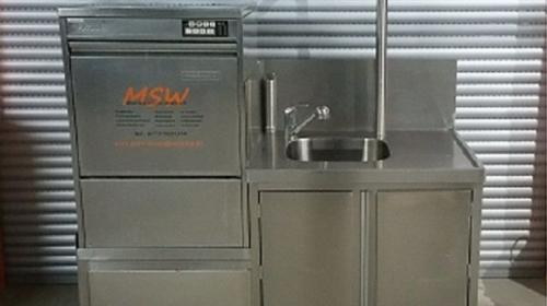 Spülmobil, Geschirr, Sektgläser, Spülmaschine,