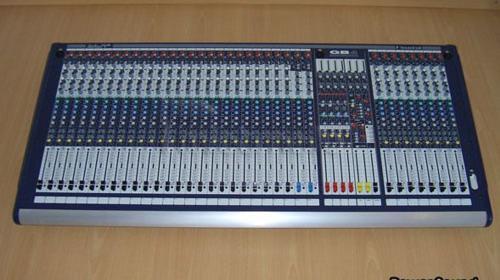 Soundcraft GB 4 Live Mixer 32/8