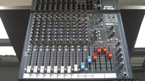 Soundcraft Live Mixer Spirit FX 8