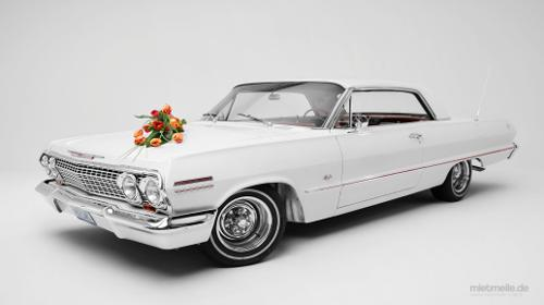 Chevrolet Impala von 1963  Traumhafter US-Oldtimer für Ihre Hochzeit