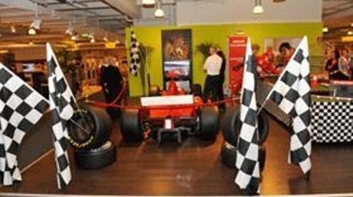 Dekoration, formel1 motorsport mieten, verleih
