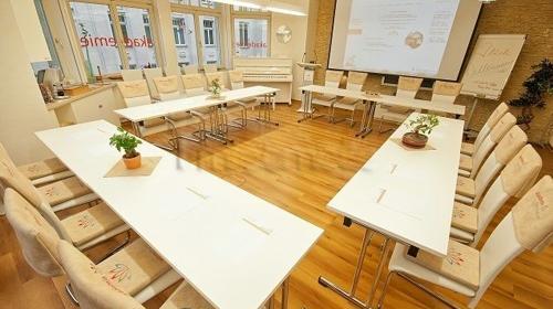 Seminar- und Veranstaltungsräume in Leipzig.