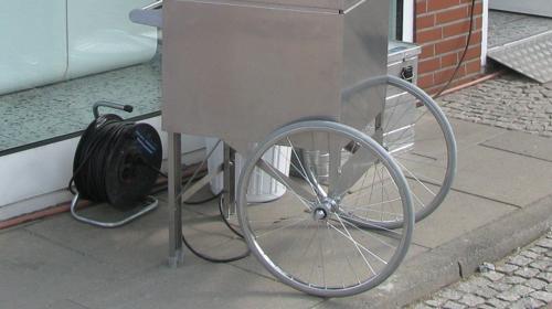 Unterwagen für Zuckerwatte-oder Popcornmaschine