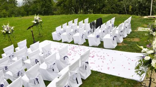 Hochzeitsdekoration von event4me aus Mannheim