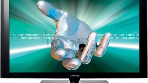 50 Zoll TV Display » 3D ink. rollbarem TV Standfuß