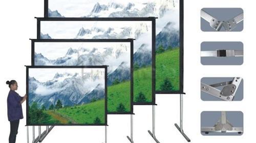 Draper Aufprojektion » 360cm x 270cm » Fast-Fold »