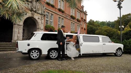 Trabi-XL Hochzeitsautos Trabant Stretchlimousinen