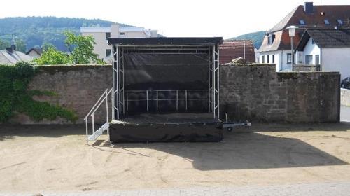Stage Event Bühnen Verleih mobile Bühne Open Air A