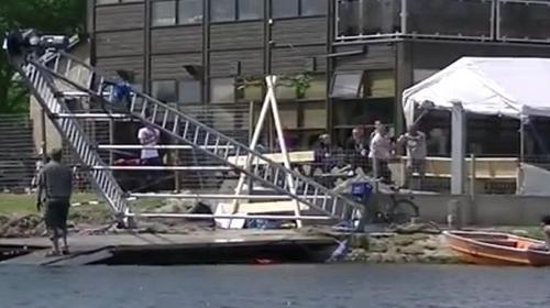 mobile WasserSki-Anlage