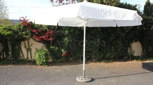 Schirm mit 400cm Spannweite (weiss)