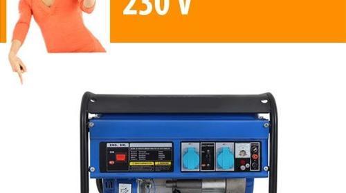 Stromerzeuger, Stromaggregat, Stromgenerator Be