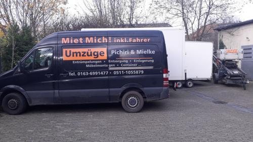 7,5 Tonnen Möbelkoffer,LKW inkl.Fahrer,Decken,Gurte EU weit