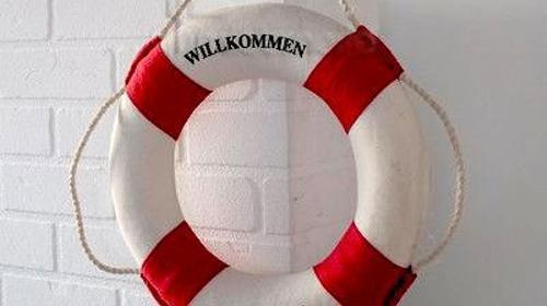 Maritime Dekoration /Rettungsring / Piraten Party