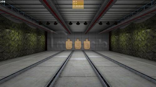 Schießstand im Geheimagentenstil - 007 Schießkino