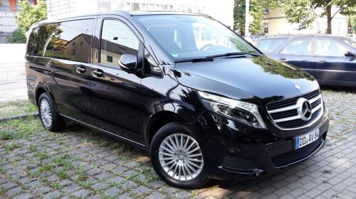 Mietwagen Mercedes V-Klasse 7-Sitzer
