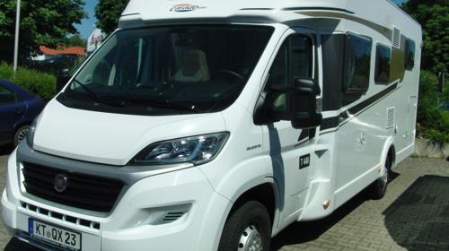 Wohnmobil Carado T 448 / Einzelbetten Hubbett
