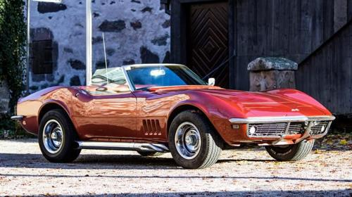 Oldtimer Chevrolet Corvette 68er Stingray Mieten