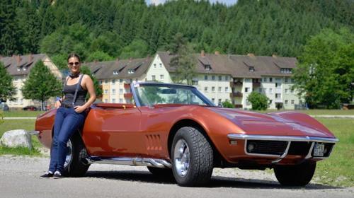 Corvette C3 Chevrolet 1968 Stingray Cabrio Oldtimer Mieten