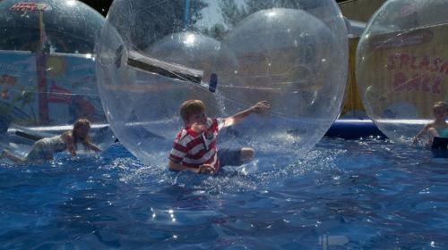 Aqua Balls / Aqua Zorbing / Wasserball Arena
