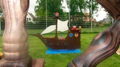 Piratenparcour inkl. Piratendiplom