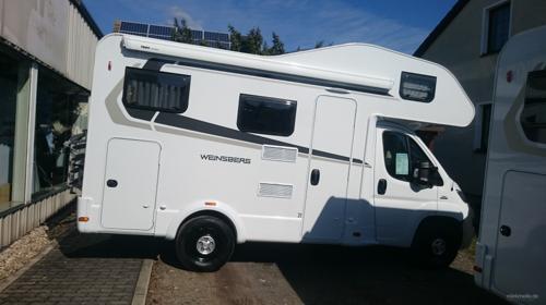Weinsberg Cara Home 550 MG 4 Sitz und Schlafplätze