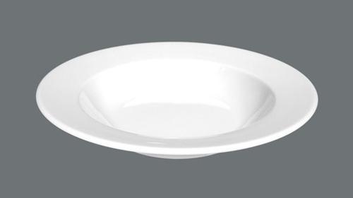 Suppenteller, tiefer Teller, Salatteller, rund, 23