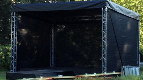 Bühne 6x4m