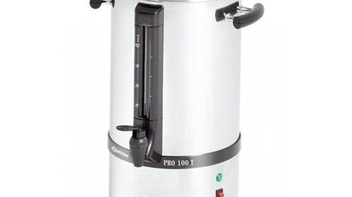 Kaffeemaschine für bis zu 100 Tassen