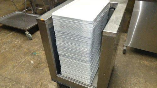 Tablett 1/1GN Grau/Weiß