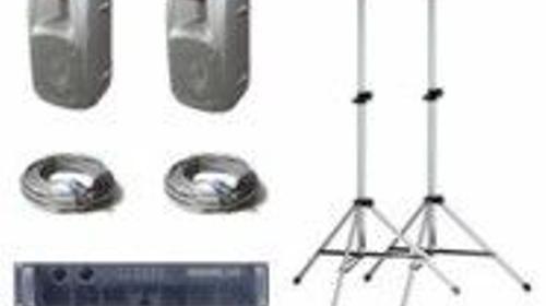 Lautsprecher Tonanlage bis 70 Personen