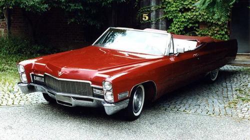 Cadillac de Ville Cabrio 1968  Hochzeitsauto mieten