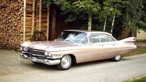 Cadillac Sedan 1959 Hochzeitsauto mieten