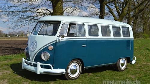 VW Bulli T1 Deluxe Hochzeitsauto mieten