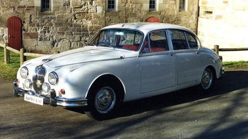 Jaguar MK II 1963 Hochzeitsauto mieten