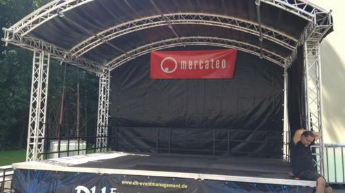 Rundbogen Bühne, Open Air Bühne, Traversen Bühne