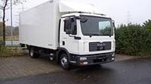 LKW/ Umzugsfahrzeug/ Lasttaxi/ Laster/ Transporter/