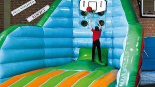 Basketball Jump, Basketnall, Kinderfest, Party