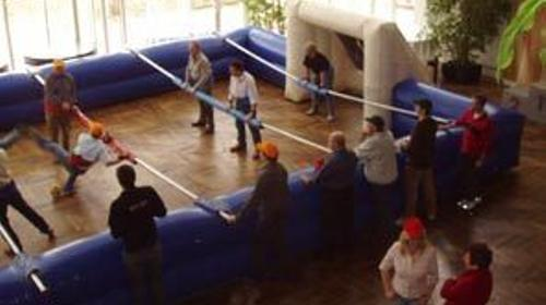 Riesenkicker, Humantablesoccer, Soccer Equipment