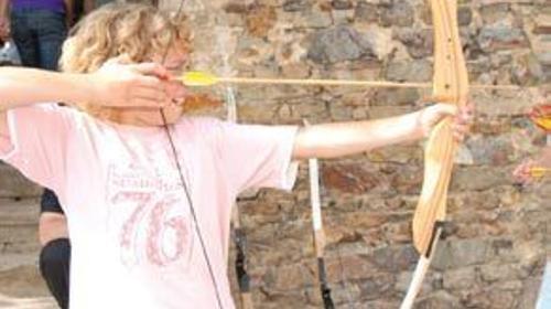 Bogenschiessen, Kleinspielgeräte, Kinderfest