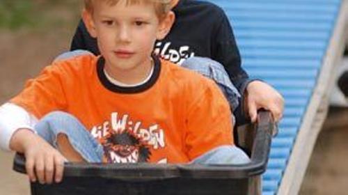 Rolrutsche, Kleinspielgeräte, Kinderfest