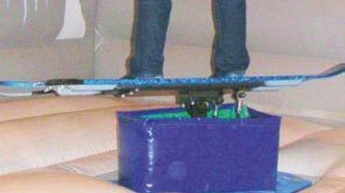 Snowboard-Simulator, Kinderfest