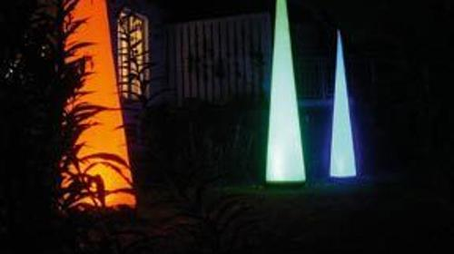 Aircones mit LED-Beleuchtung