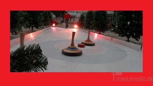 Eisstockbahn, Curlingbahn mieten, leihen, verleih